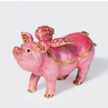 Bejeweled Flying Pig