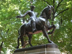 Paul Revere Statue in the North End