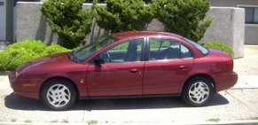 Red Saturn (not mine but mine looks like this)