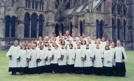 Trinity Choir at Salisbury Cathedral