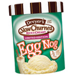 Edy's Eggnog Slow Churned Ice Cream