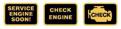 Car warning lights