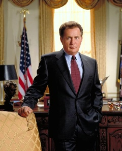 Martin Sheen as Jed Bartlet
