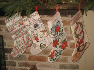 Christmas Stockings Handmade by Me