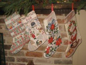 Christmas Stockings Handmade by Me