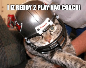 I iz Reddy to Play Nao Coach
