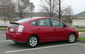 My New Red Prius