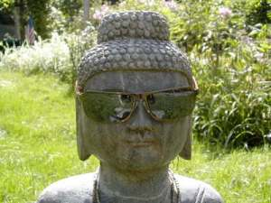 Buddha in Sunglasses