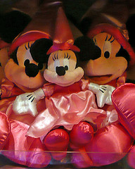 Princess Minnie dolls