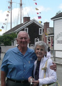 Mom and Dad at Mystic Seaport