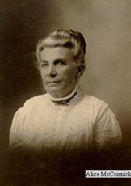 1 Alice McCormick
