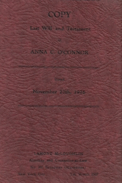 ConwayAnna Will 1926