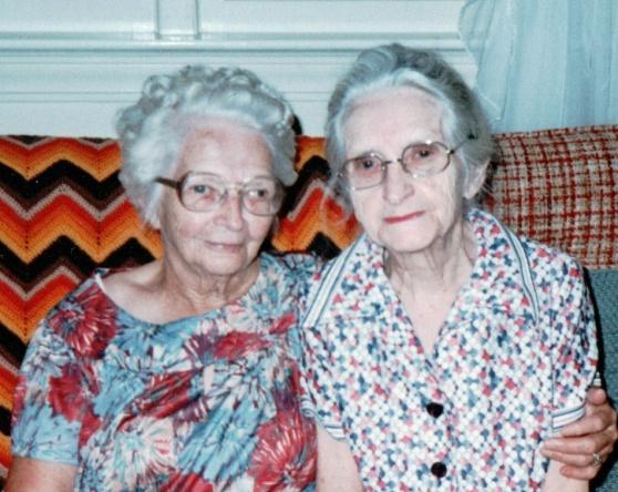 KEEL Susie and Maglene - August 1979 - Williamston NC