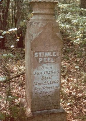 PEEL Stanley - Tombstone - NC Beargrass-1902