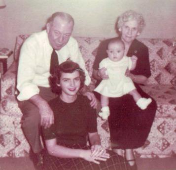 Flanders & Baby Anne 1954